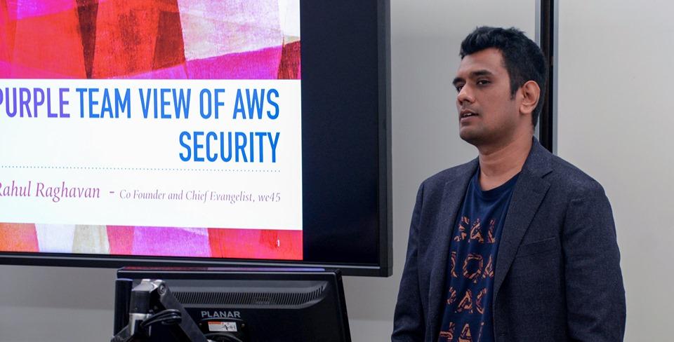 Rahul Raghavan – we45